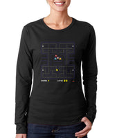 Pacman Games Long sleeve T-shirt for Women
