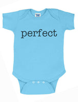 Perfect Infant Baby Rib Lap Shoulder Creeper Onesies