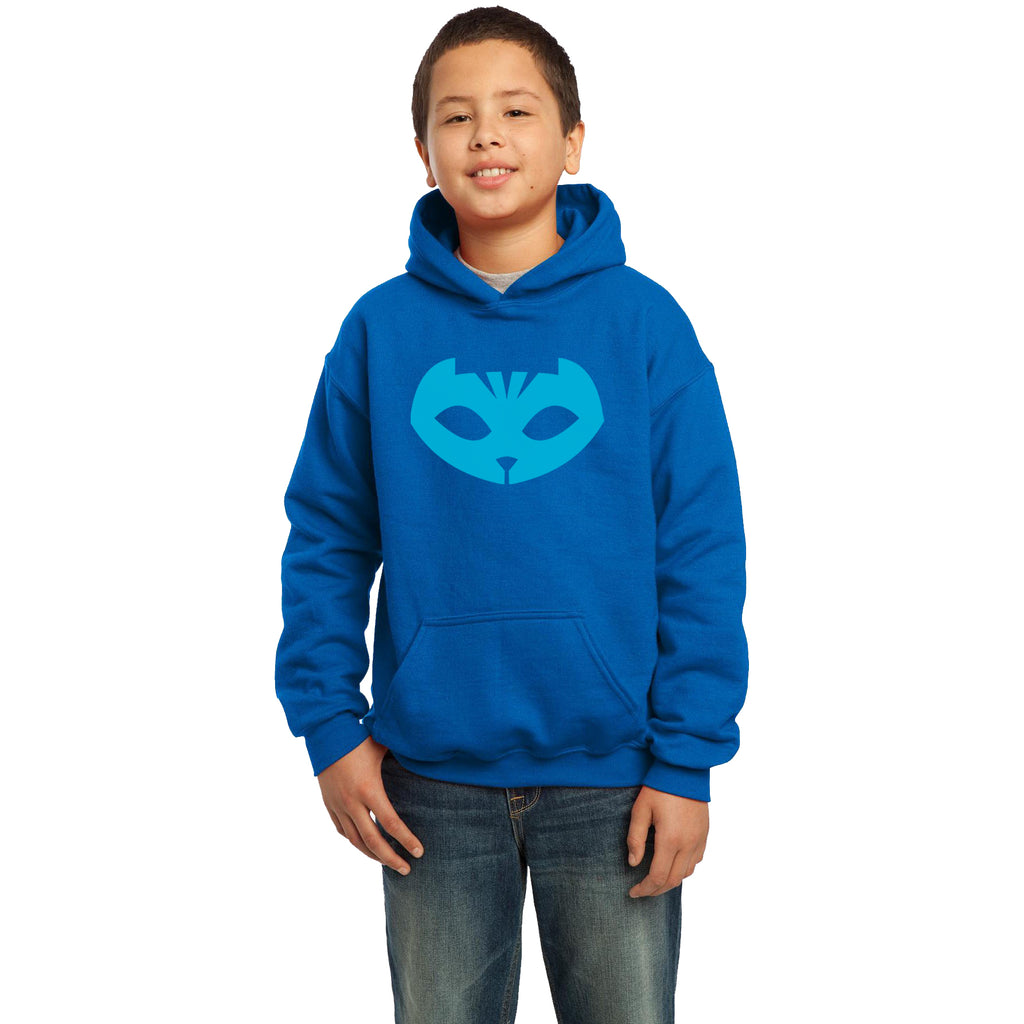 Pj Mask Catboy Blue Ink Kid / Youth Hoodie Royal Blue