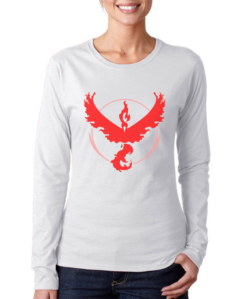 Pokemon Go VALOR Long sleeve T-shirt for Women