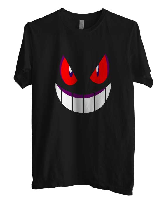 Pokemon Gengar Games Men T-shirt / Tee