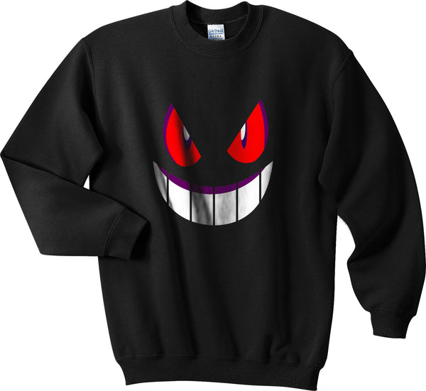 Pokemon Gengar Games Unisex Crewneck Sweatshirt - Meh. Geek