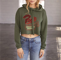 Pop's Chock'lit Shoppe 1 Cropped Hoodie
