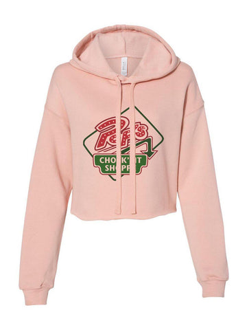 Pop's Chock'lit Shoppe 2 Cropped Hoodie