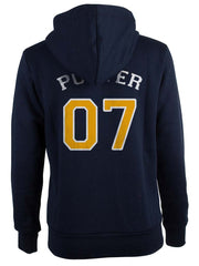 Potter 07 on Back Harry Potter Unisex Pullover Hoodie - Meh. Geek