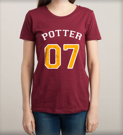 Potter 07 on front Harry potter Women T-shirt