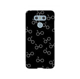 Potterhead Seamless Black LG and Google Pixel Snap or Tough Phone Case