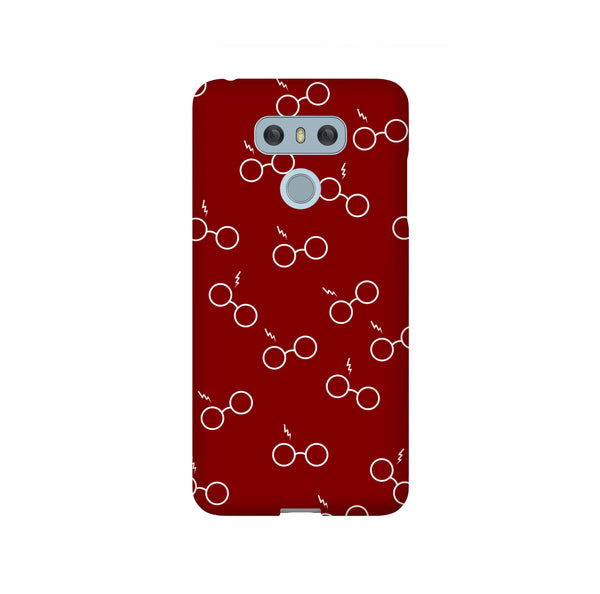 Potterhead Seamless Maroon LG and Google Pixel Snap or Tough Phone Case