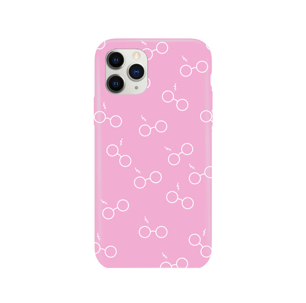 Potterhead Seamless Pink iPhone Snap or Tough Case