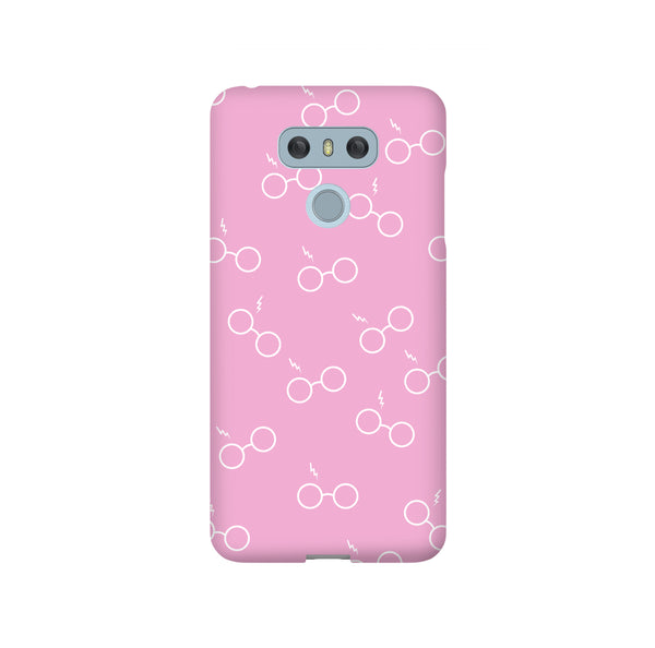 Potterhead Seamless Pink LG and Google Pixel Snap or Tough Phone Case