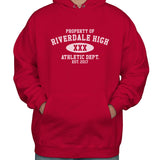 Property of Riverdale High Athletic Dept. Est. 2017 Unisex Pullover Hoodie