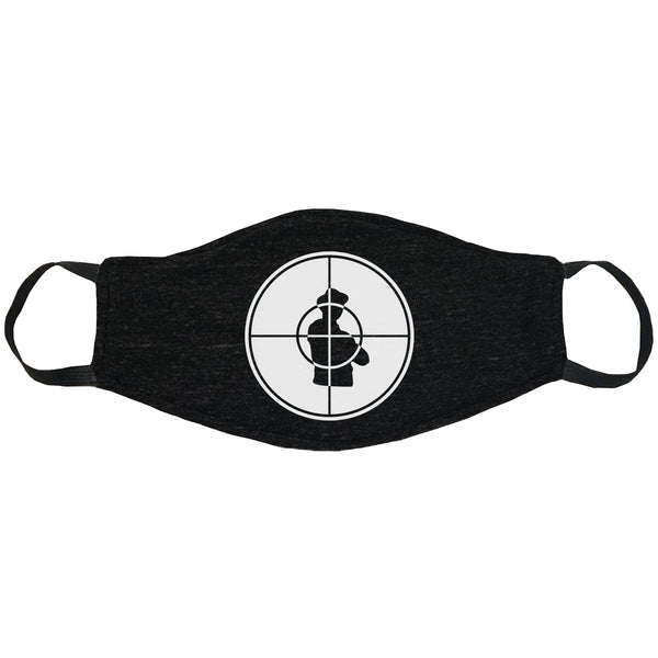 Public Enemy Logo Face Mask