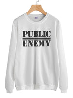 Public Enemy F Unisex Crewneck Sweatshirt Adult