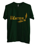 Beater Quidditch Yellow ink Harry potter Unisex Men T-shirt - Meh. Geek