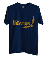 Beater Quidditch Yellow ink Harry potter Men T-shirt