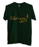 Captain Quidditch Yellow ink Harry potter Men T-shirt