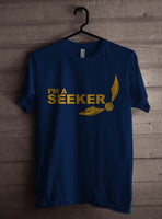 Keeper Quidditch yellow ink Harry potter Men T-shirt