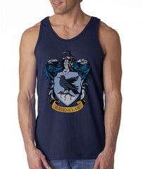 Ravenclaw Crest #1 Color Men Tank Top PA Crest