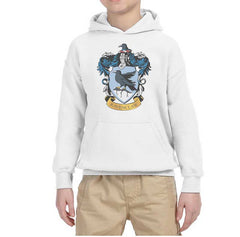 Ravenclaw Crest #1 Kid / Youth Hoodie Navy PA Crest