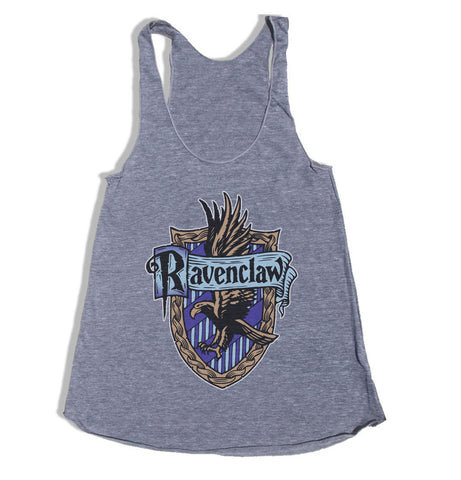 Ravenclaw #2 Crest American apparel Triblend Racerback Women Tank Top