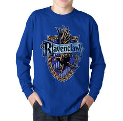 Ravenclaw Crest #2 Kid / Youth Long Sleeves T-shirt tee PA Crest