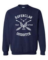Ravenclaw CAPTAIN White Quidditch Team Unisex Crewneck Sweatshirt PA New Adult