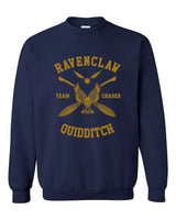 Ravenclaw CHASER Yellow Quidditch Team Unisex Crewneck Sweatshirt PA New Adult