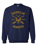Ravenclaw CAPTAIN Yellow Quidditch Team Unisex Crewneck Sweatshirt PA New Adult