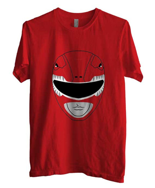 Red Ranger Unisex Men T-shirt - Meh. Geek