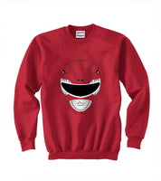 Red Ranger Unisex Crewneck Sweatshirt Adult