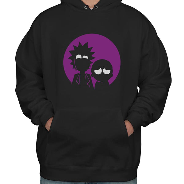 Rick and Morty Moon Light Unisex Pullover Hoodie