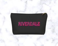 Riverdale Pink Accessory Stuff Carryall Pouch