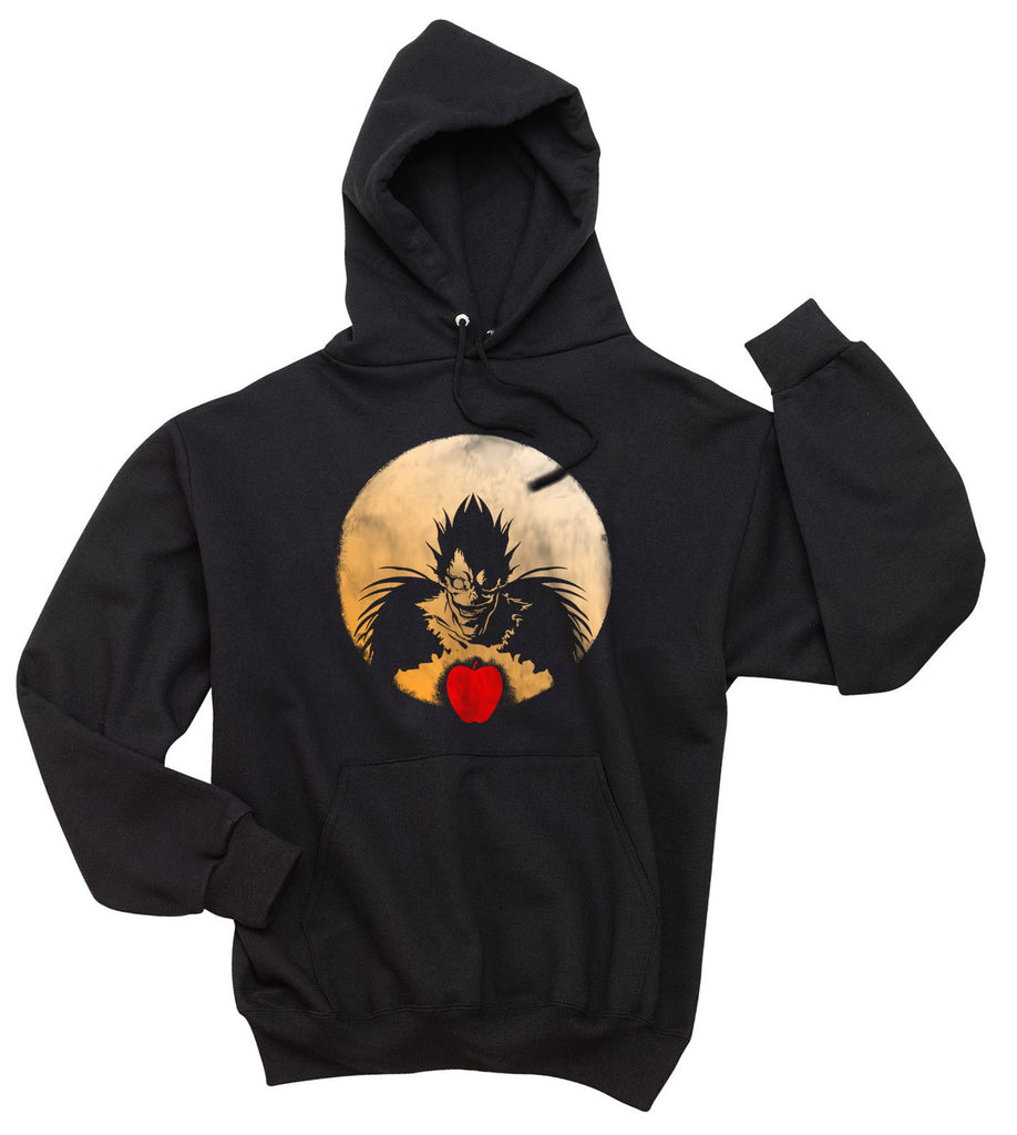 Ryuk Apple Death Note Shinigami Light Unisex Pullover Hoodie - Meh. Geek