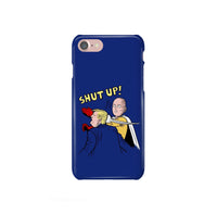 Saitama Slap Trump Shut Up iPhone, Samsung Galaxy, Google Pixel, LG Snap or Tough Phone Case