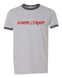Scoops Troop Stranger Things Ringer Unisex T-shirt / tee