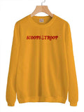 Scoops Troop Unisex Crewneck Sweatshirt Adult