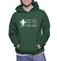 Seattle Grace Mercy West Hospital Unisex Pullover Hoodie - Meh. Geek - 3