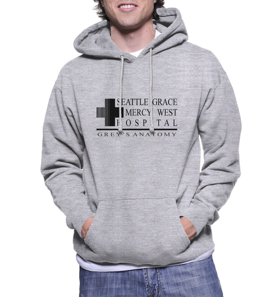Seattle Grace Mercy West Hospital Unisex Pullover Hoodie - Meh. Geek - 4