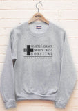 Seattle Grace Mercy West Hospital Unisex Crewneck Sweatshirt - Meh. Geek