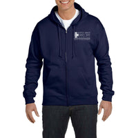 Seattle Grace Mercy West Hospital Chest Pocket Unisex Zip Up Hoodie