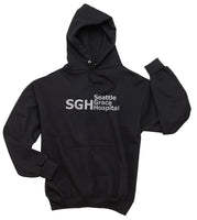 SGH Seattle Grace Hospital Grey's Anatomy Unisex Pullover Hoodie - Meh. Geek - 6
