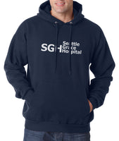 SGH Seattle Grace Hospital Grey's Anatomy Unisex Pullover Hoodie - Meh. Geek - 1