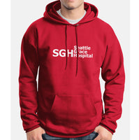 SGH Seattle Grace Hospital Grey's Anatomy Unisex Pullover Hoodie - Meh. Geek - 4