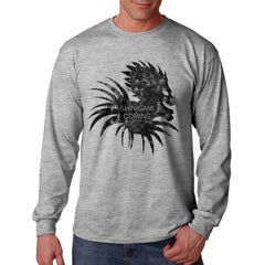 Shinigami Is Coming Death Note Light Long Sleeve T-shirt for Men - Meh. Geek