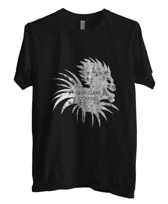 Shinigami Is Coming Death Note Manga Anime Men T-shirt - Meh. Geek - 2