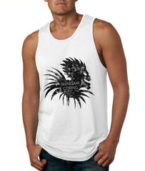 Shinigami is Coming Death Note men Tank Top
