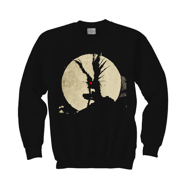 Shinigami Like Apple Death Note Manga Anime Crewneck Sweatshirt Adult