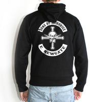 Sons of Shirohige Edward Newgate on Back Unisex Pullover Hoodie - Meh. Geek