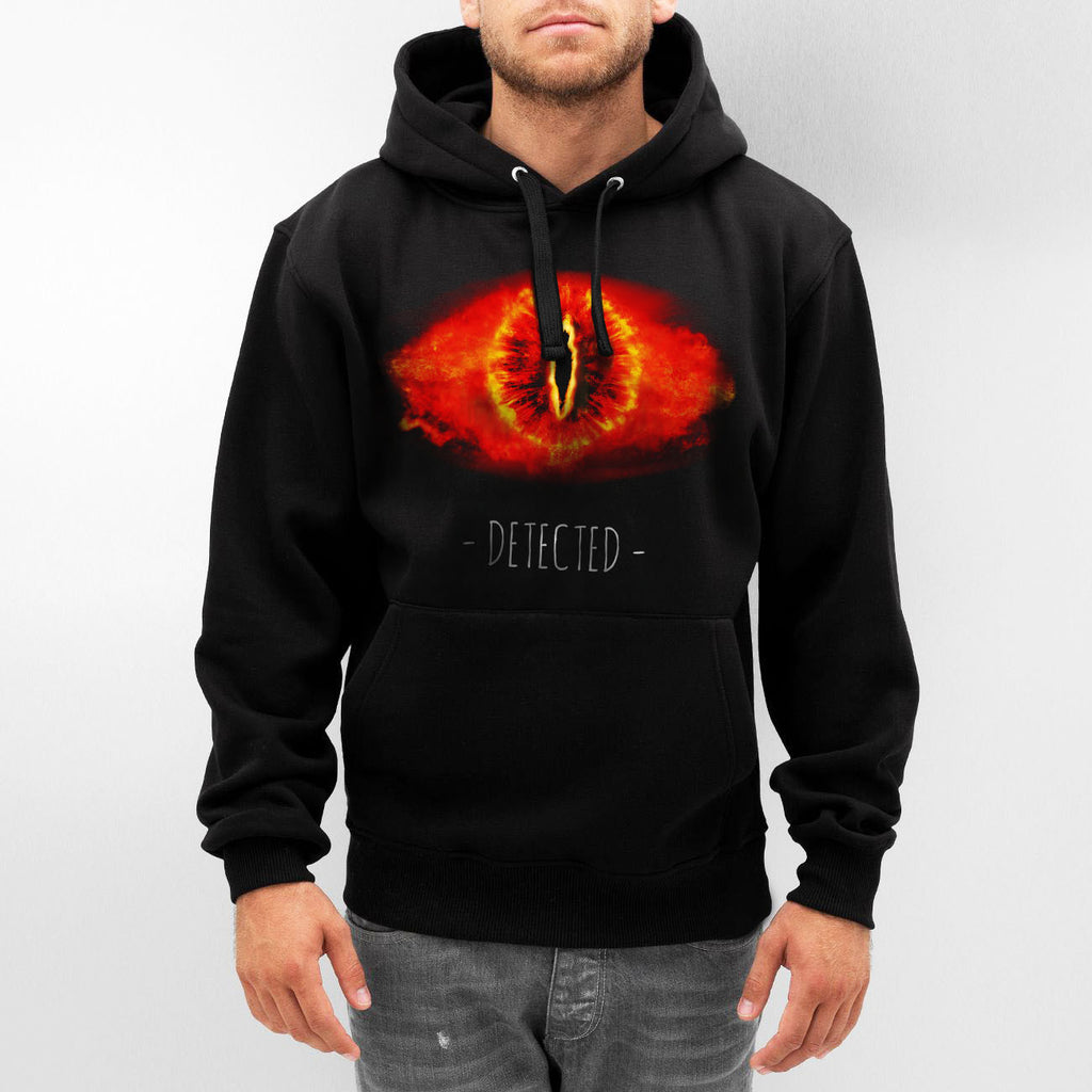 Sauron Detected Lord Of The Rings Unisex Pullover Hoodie - Meh. Geek