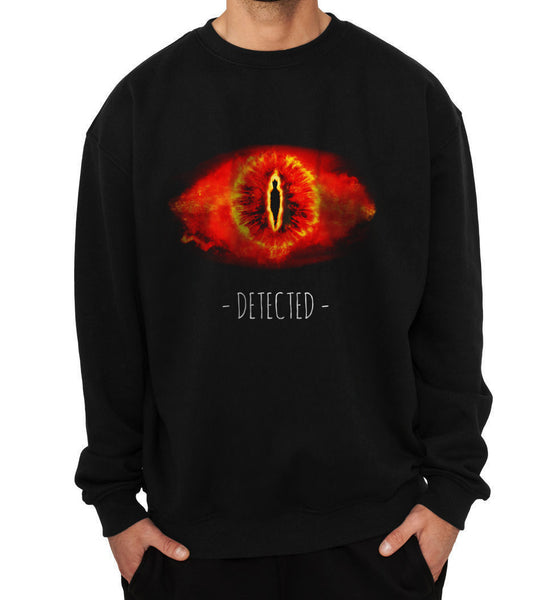 Sauron Detected Lord Of The Rings Unisex Crewneck Sweatshirt - Meh. Geek